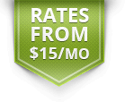 rates from $15 per month graphic